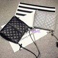 Бесплатная доставка, 2016 ретро женщина сумки, мода простой сумка, мягкая кожаная сумка, решетки алмаза сумки.
