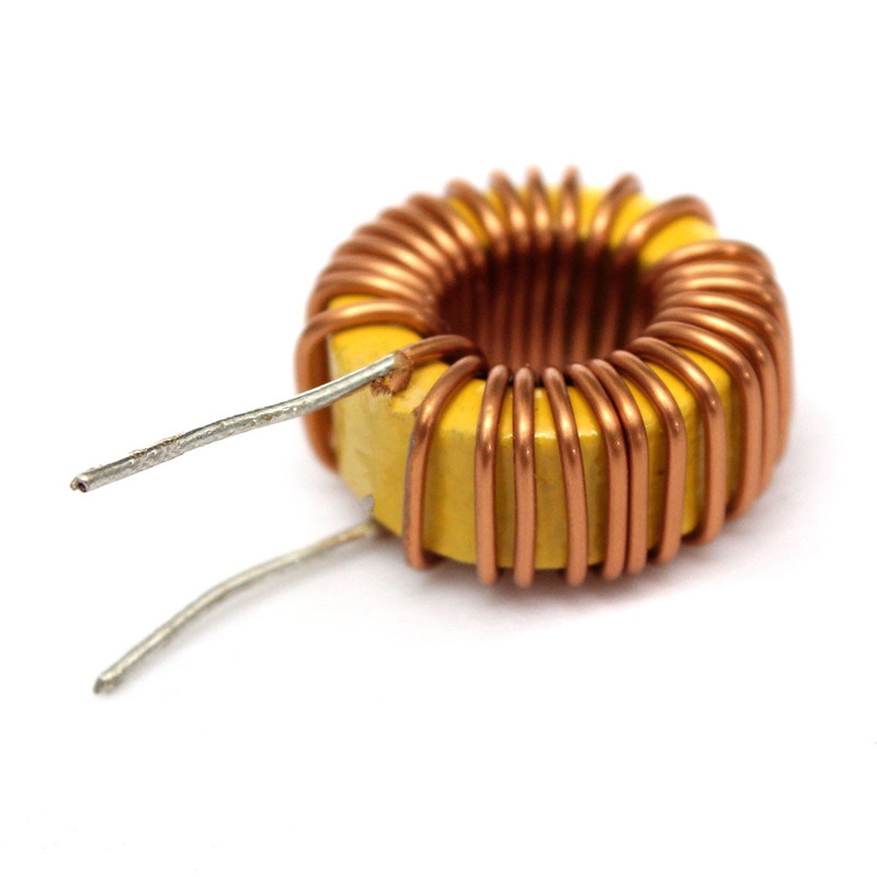 1Pc 33UH 3A Toroidal Wound Inductor Nude Inductance Magnetic Inductance  Power Supplies Core Inductors