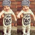 Toddler Kids Baby Girl Boy Cálido Bebé Mono Del Mameluco Del Algodón Ropa 0-18Months