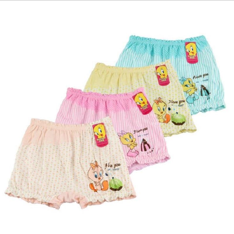 Boxer font b Baby b font Pants Shorts Underwear Children s Panties For Girls Cotton Briefs