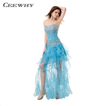 CEEWHY Off Shoulder Ruffles Evening Dress Beaded Prom Dresses Kaftan Dubai Evening Dresses Robes de Soiree Tendance Longue