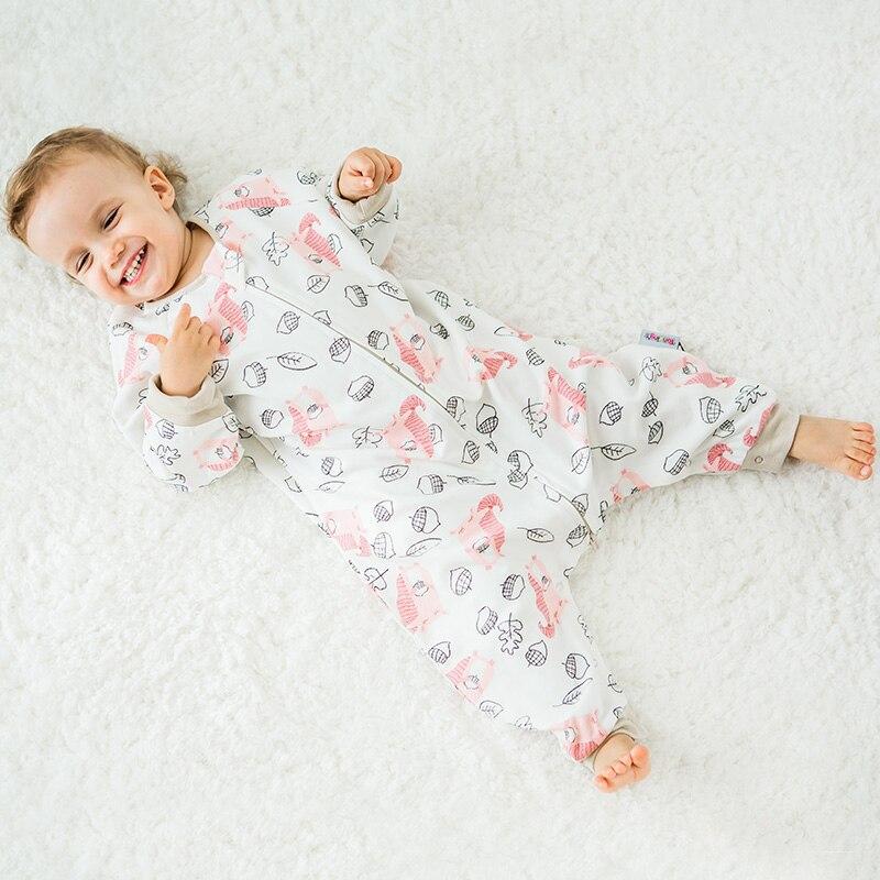 Śpiwory dziecięce zimowe grube śliczne kombinezon dla dzieci - Pościel - Zdjęcie 4
