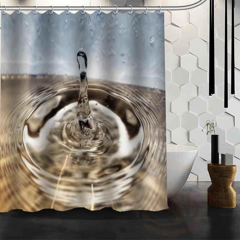 Fashion Waterproof Polyester Bath Curtains Popular European style Shower Curtains Bathroom Curtain Free shipping