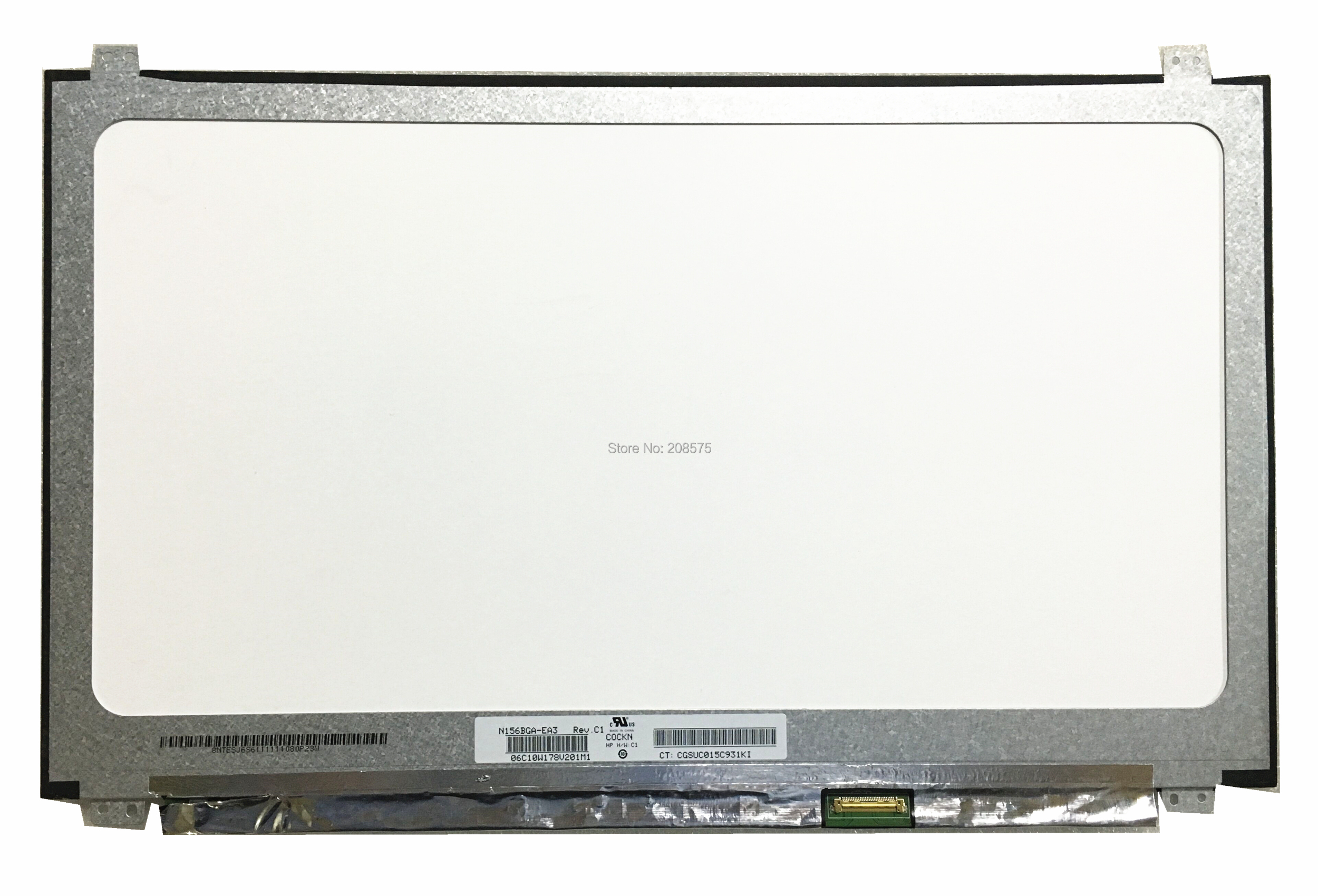 Free shipping N156BGA-EA3 N156BGA EA3 Matte non-edged 15.6''inch ptop LCD LED Screen Replacement 1366*768 Monitor