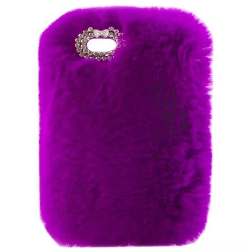 1Pcs Fashion Deluxe Fluffy Winter Warm Furry Fluffy Rabbit Fur Tablet Case Cover For Lenovo TAB 4 10 TB-X304 TB-X304F TB-X304N