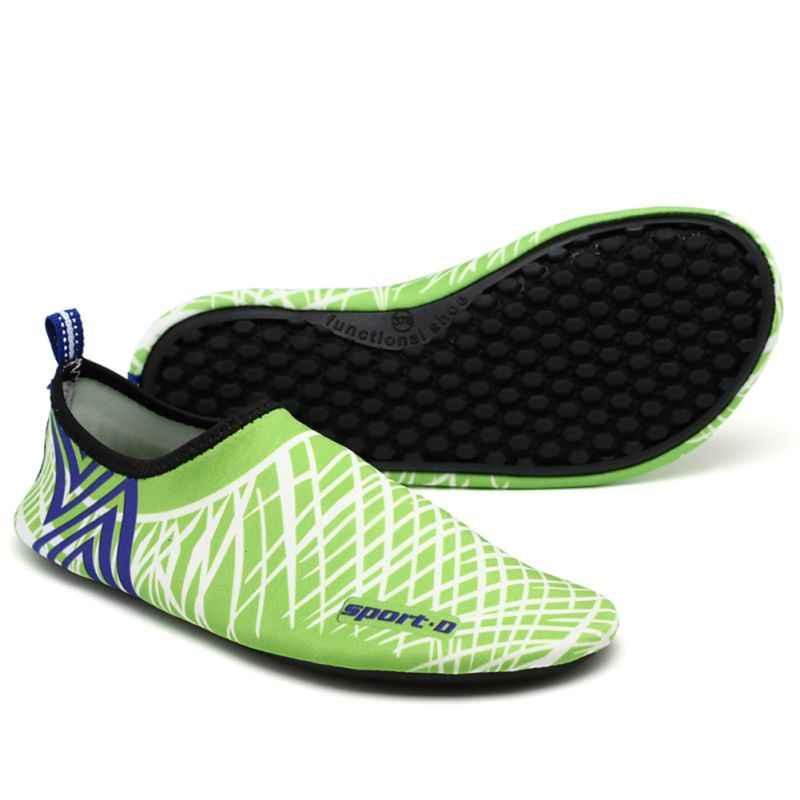 5415252d3e79d Men Women Barefoot Stockings Skin Beach Shoes Swimming Pool GYMNASTICS Aqua  Water Swimming Beach Slipper No
