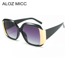 ALOZ MICC Vintage Sunglasses Women Trend oversized For Brand Design Fashion gafas de sol UV400 Q694