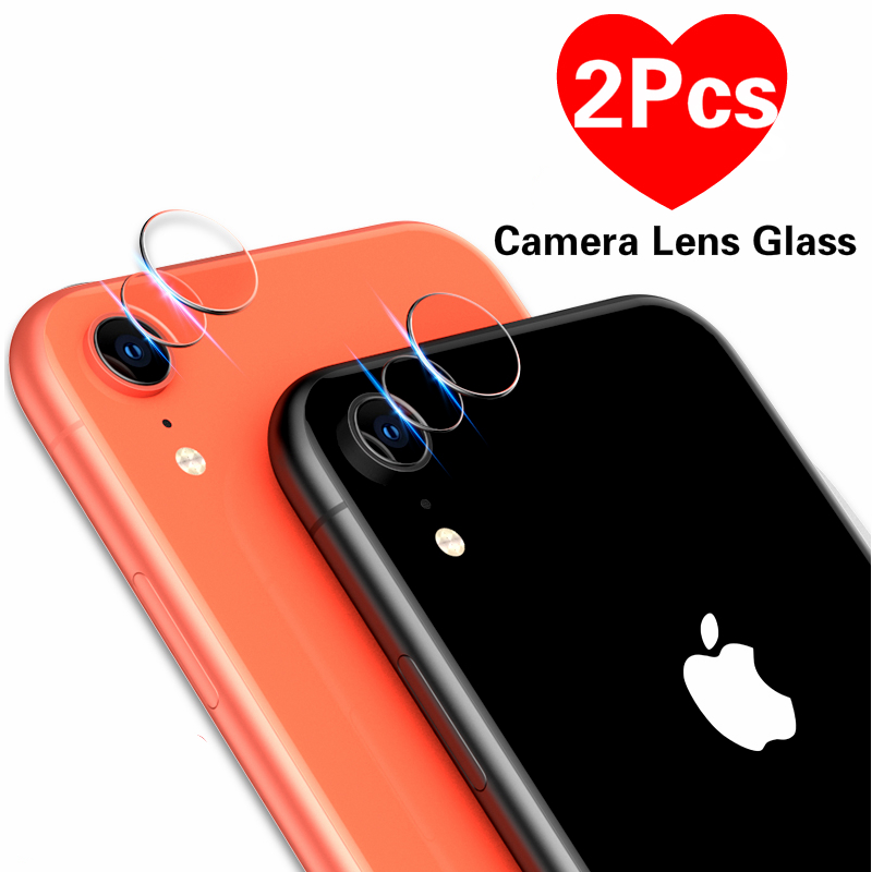 2PCS For iPhone Xr X Xs Max Camera Len Protector Tempered Glass Back Lens Film For iPhone 6 6S 7 8 Plus 5s SE Phone Accessories