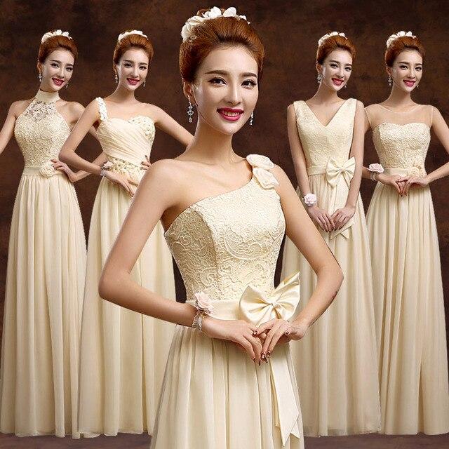Winter Color Bridesmaid Dresses