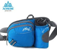 AONIJIE Men Women Waist bag Multi-functional Outdoor Pockets Travel Cycling Running Waterproof Nylon Money Belt Sport Bag
