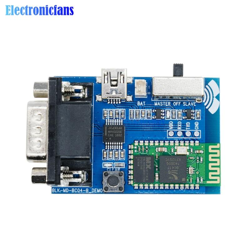RS232 Bluetooth Serial Adapter Kommunikation Master-Slave 2 Modi 5V Mini USB Bluetooth Serial Port Profile BC04-B