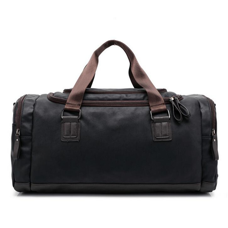 High Quality PU Leather Men's Travel Bags Large Capacity Men Messenger Bags Travel Duffle Handbags Men Shoulder Bags Duffle Bag safebet brand high quality pu leather handbags for men large capacity portable shoulder bags men s fashion travel bags package