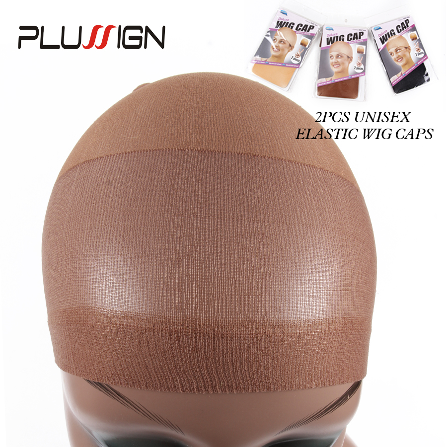Invisible Soft Wig Net Cap Stocking Wig Liner Cap Black Brown Blonde Stocking Wig Cap Beige 2Pcs(1Pack) Nylon Wig Caps For Women футболка il gufo il gufo il003egrho55