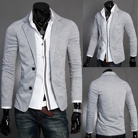 Dropshipping Men'sbutton Suits Men's Knitted Blazers Fashion Small Wedding Clothes Holiday Gift  Casual Slim Hot Sale Top Coat