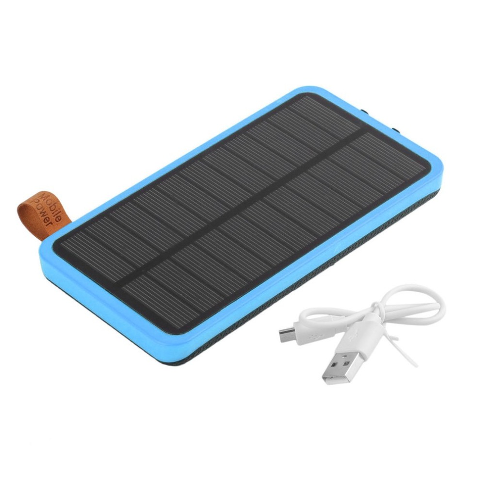 30000mAh Solar Power Bank Waterproof Powerbank Portable Charger Power Source With Camping Light For Mobile Phone Poverbank