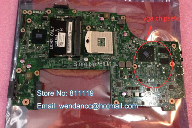Laptop non integrated motherboard with 4 chipsets For N7010 ,CN 0V20WM  V20WM 31UM9MB0070 DAUM9BMB6D0 REV:D-in Video Game Consoles from Consumer