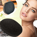 5 pcs Soft Natural Black Bamboo Charcoal Sponge Face Washing Exfoliator Cleaning Cosmetic Puff Beauty Care Tools A3
