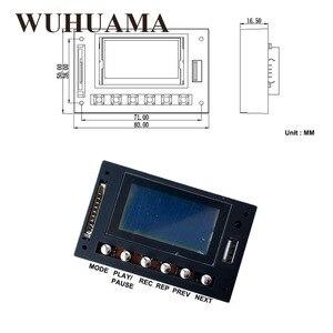 Image 2 - DC12V affichage LED bleu MP3 WAV WMA lecteur Module Bluetooth FM SD USB décodeur Audio carte avec enregistrement