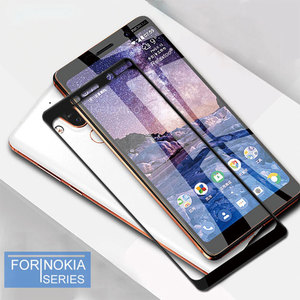 Image 2 - 9D Protective Glass For Nokia 4.2 3.2 3 6 7 8 3.1 5.1 6.1 7.1 8.1 Plus Screen Protector for Nokia 8.1 7 Plus 5.1 6.1 Film Cover