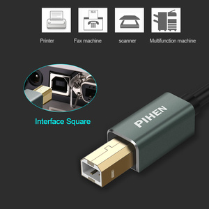 Image 3 - Kabel USB do drukarki USB typ B męski na męski kabel USB 3.0 2.0 do drukarki Canon Epson HP ZJiang drukarka USB DAC