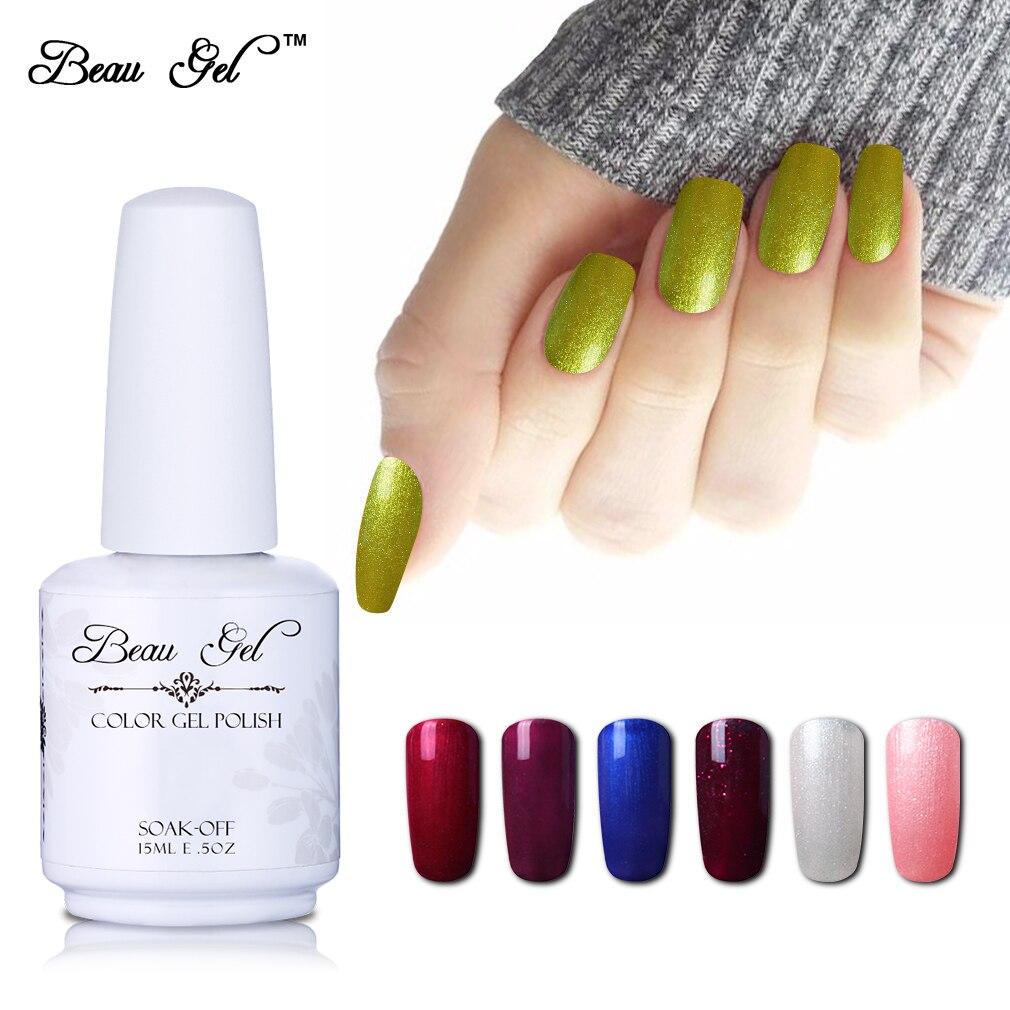 Beau gel 15 ml uv gel polish colored paint gel varnish nails polish semi permanent polish