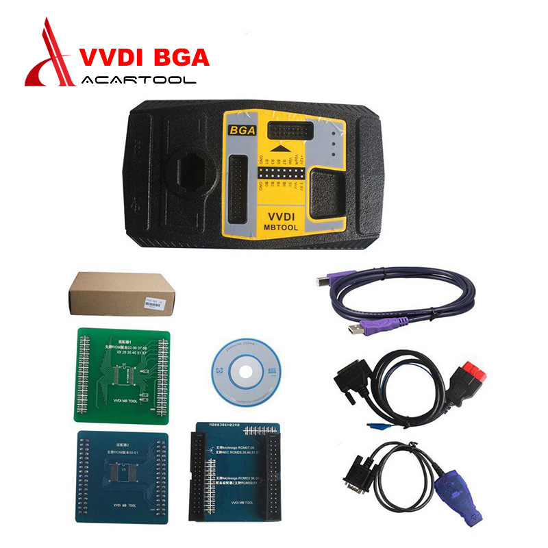 все цены на 2017 100% Original Xhorse V2.1.1 VVDI MB BGA TooL for Benz Key Programmer Including BGA Calculator Function DHL Free Shipping онлайн