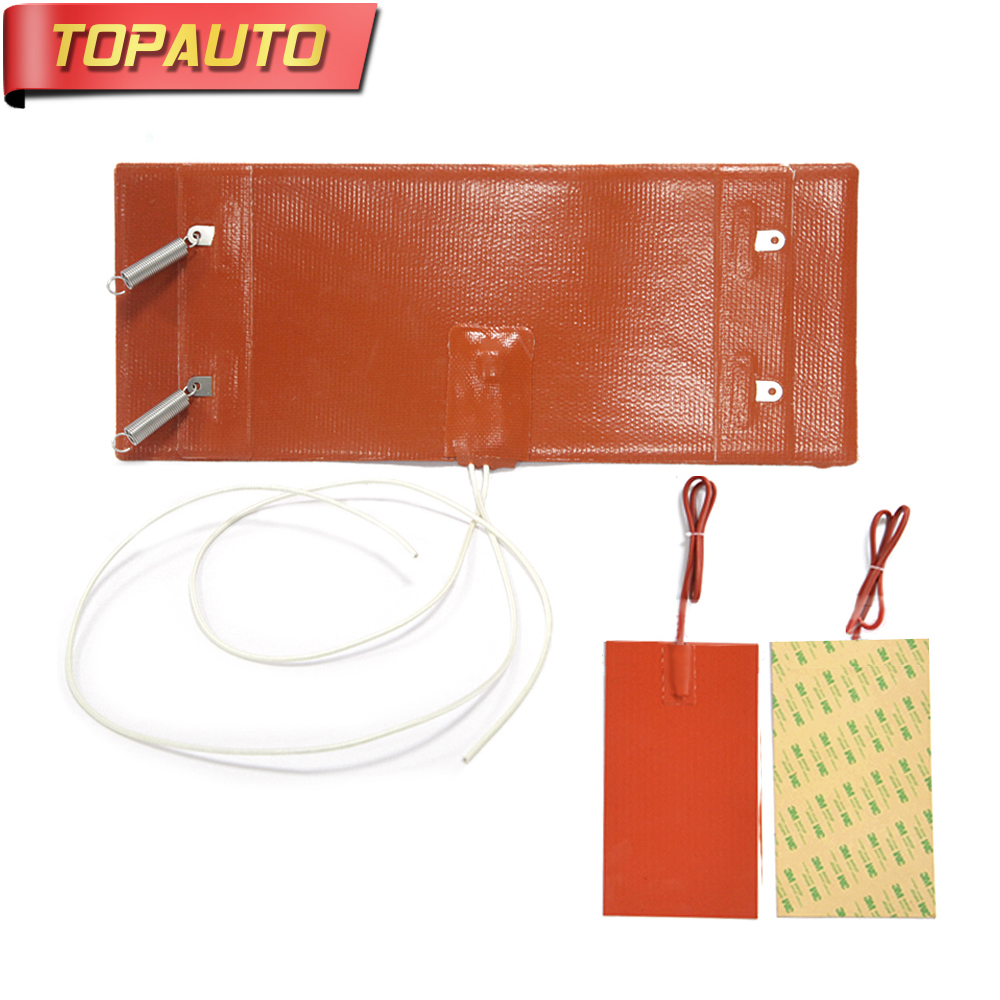 TopAuto 12V 24V Electric Heating Ring Heater Mat for Diesel Car Filter For Air Diesel Parking Heater For Webasto Truck Bus 5kw air parking heater control assembly for general diesel truck boat motorhome for webasto snugger diesel heater 12v 24v