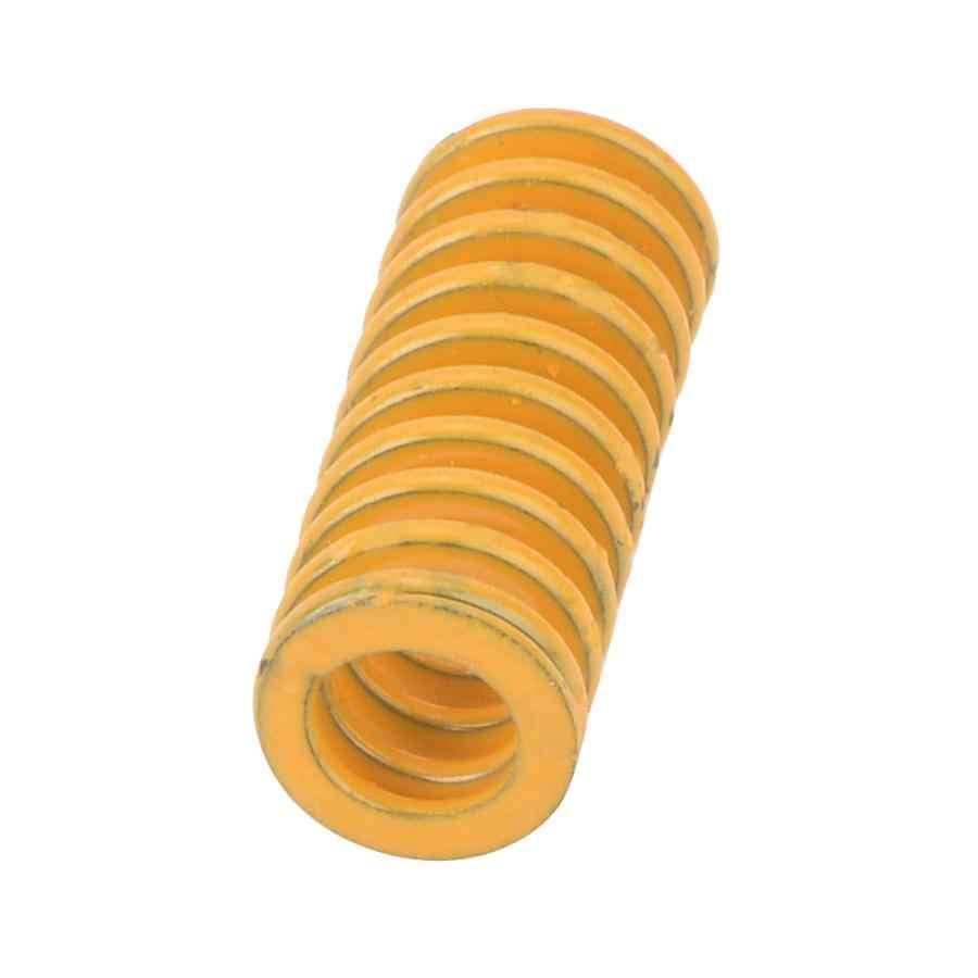 2 Pcs ความแม่นยำเหล็กแม่พิมพ์สีเหลืองขดลวดฤดูใบไม้ผลิสำหรับปั๊มโลหะตายการบีบอัดแรงดึงสปริง