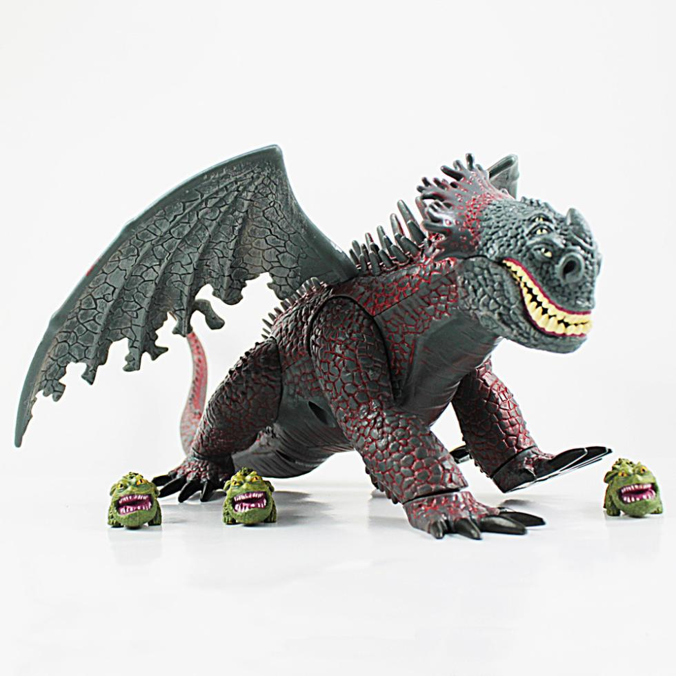 How to train your dragon movie red death with 3 mini gronckles how to train your dragon movie red death with 3 mini gronckles action figure toy doll 7 in action toy figures from toys hobbies on aliexpress ccuart Gallery