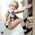 2017 nova primavera estilo bobo choses meninos meninas coruja impresso T camiseta calça bebê crianças conjunto de roupas de bebê meninos meninas pijamas