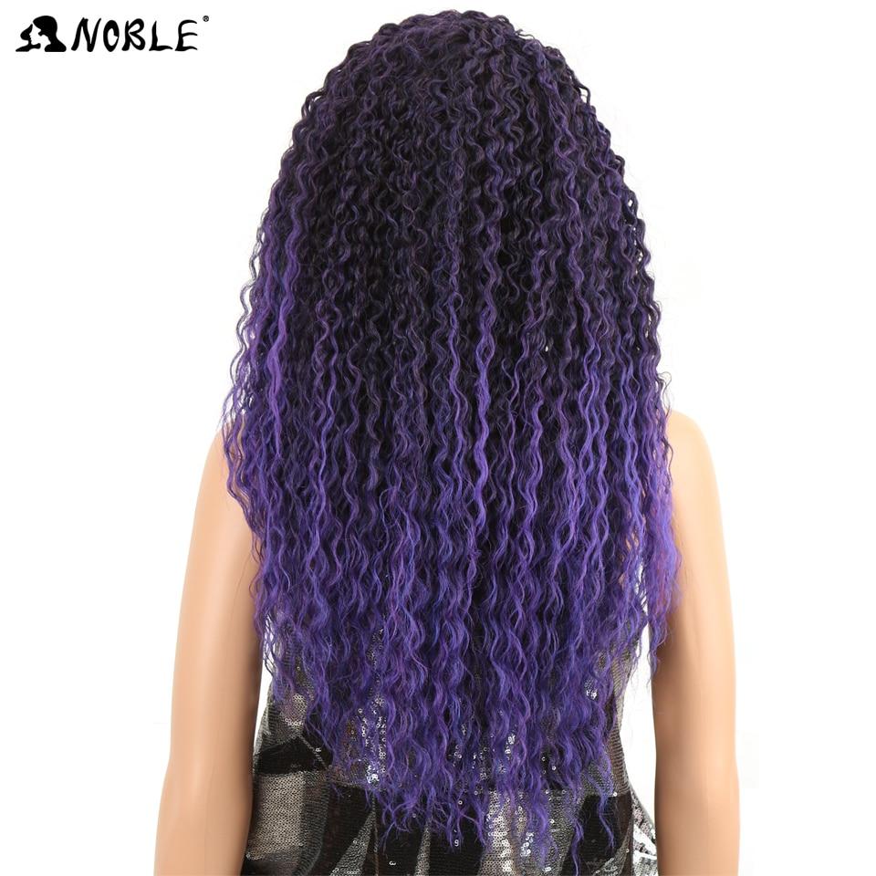 Asil Kıvırcık Peruk Sentetik Saç Uzun Kadın Peruk 26 Inç - Sentetik Saç - Fotoğraf 4