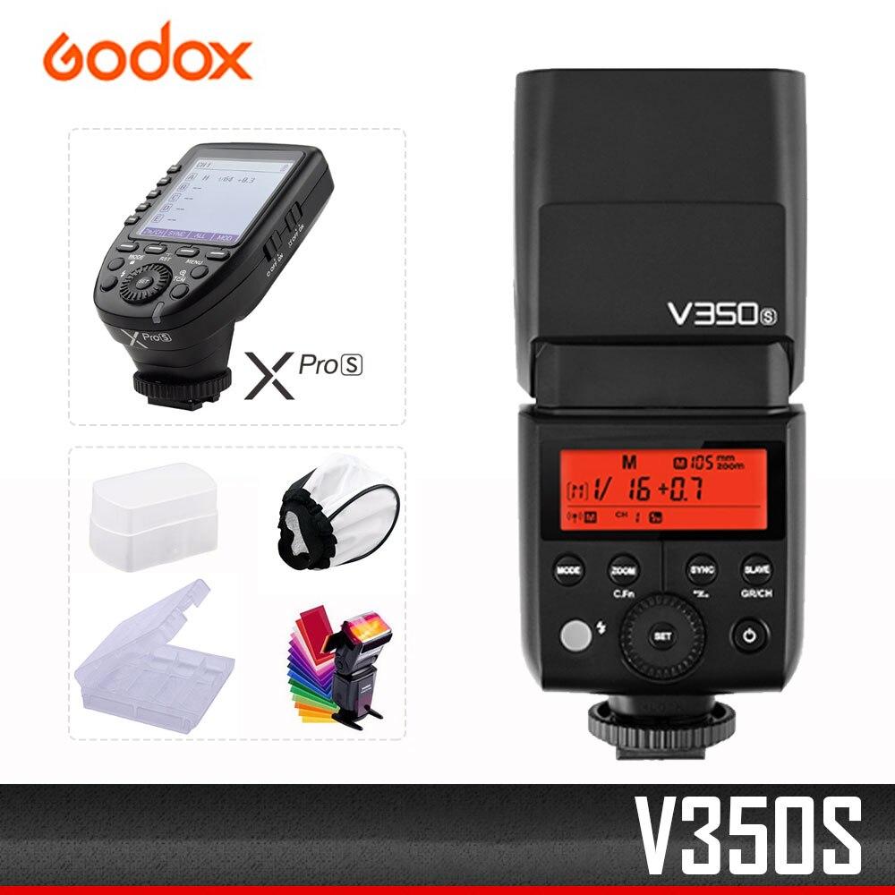 GODOX V350 S For Sony Mirrorless Digital Camera A7R External High-speed TTL Lithium Battery SLR Camera Hot Shoe Top Flash