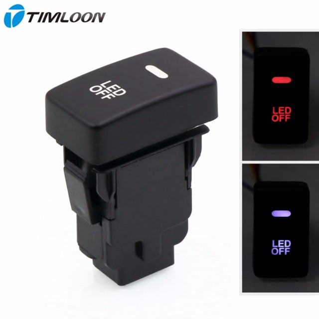 12v Car Fog Light Switch Daytime Running Lights Switch Use