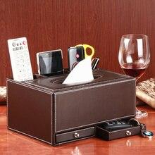 цена на Fashion home creative company with drawer multifunctional tissue box pumping paper box