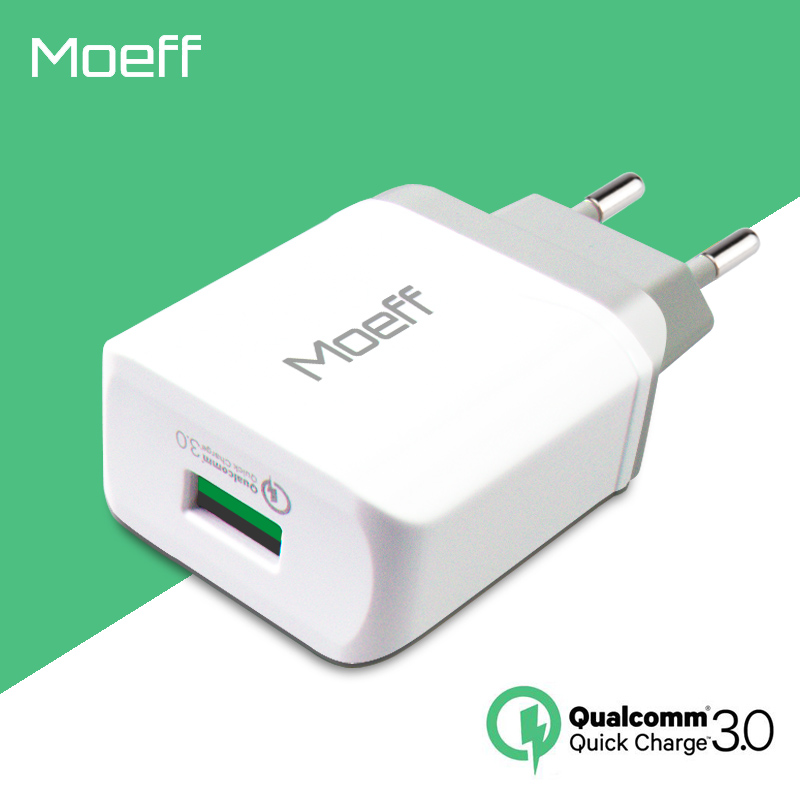 5V3A Qualcomm Quick Charge 3.0 EU USB Phone Charger Adapter Travel Wall Charger Plug Quick Fast Charging For Samsung S5 iphone