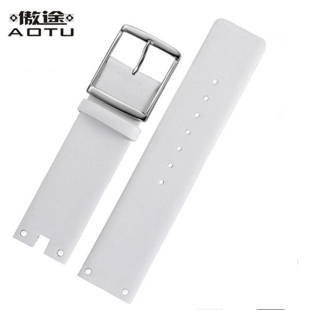 Genuine Leather Watchbands For Calvin Klein K94231 Women Watches Strap 22mm Leather Watch Band Men Watch Belt For CK Bracelet