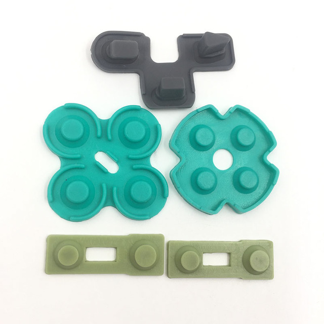 Conductive Rubber Contact Pad Button D-Pad for Sony PS2 Controller 3