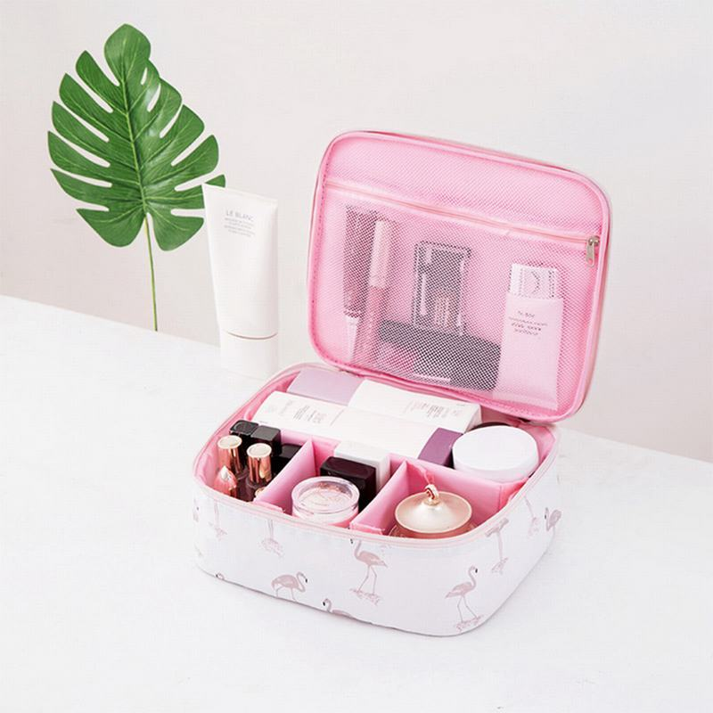 Image 5 - 1 PC Travel Makeup Bags Comestic    Storage bag-in Storage Bags from Home & Garden