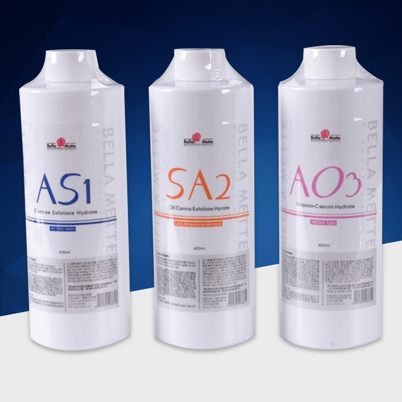 400ml AS1 SA2 AO3 Aqua Peeling Solution for 6in1 7in1 8in1 Hydra Vitamin Water Dermabrasion Face Clean SPA400ml AS1 SA2 AO3 Aqua Peeling Solution for 6in1 7in1 8in1 Hydra Vitamin Water Dermabrasion Face Clean SPA