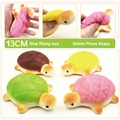 Jumbo Squishy Bread Scented Tortoise Phone Bag Chain Charms Bun Soft Straps Toys 1pcs Free shipping