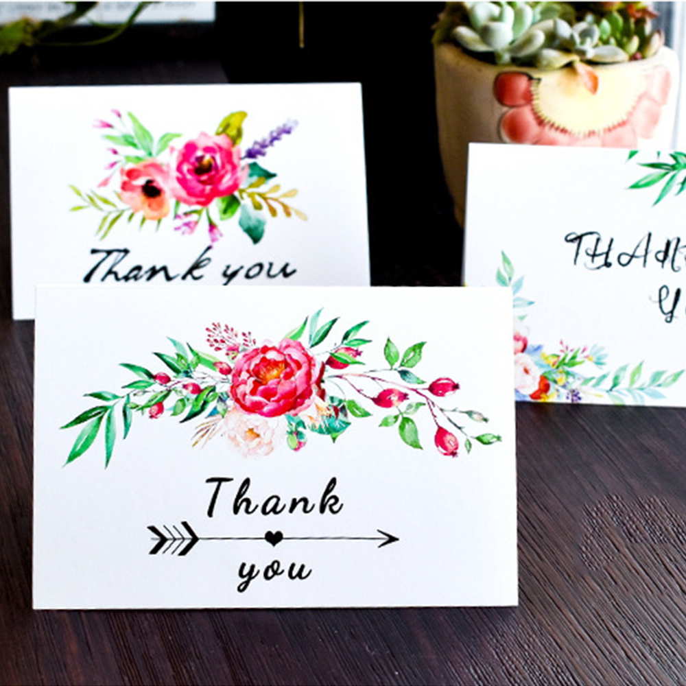 Thanksgiving Greeting Card 36 Pieces Thank You Cards With 6 Big