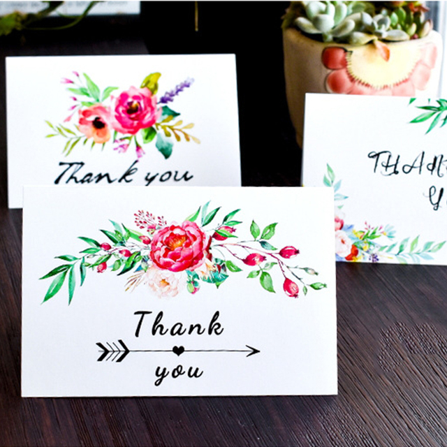thanksgiving greeting card 36 pieces thank you cards with 6 big flower design for - Big Greeting Cards