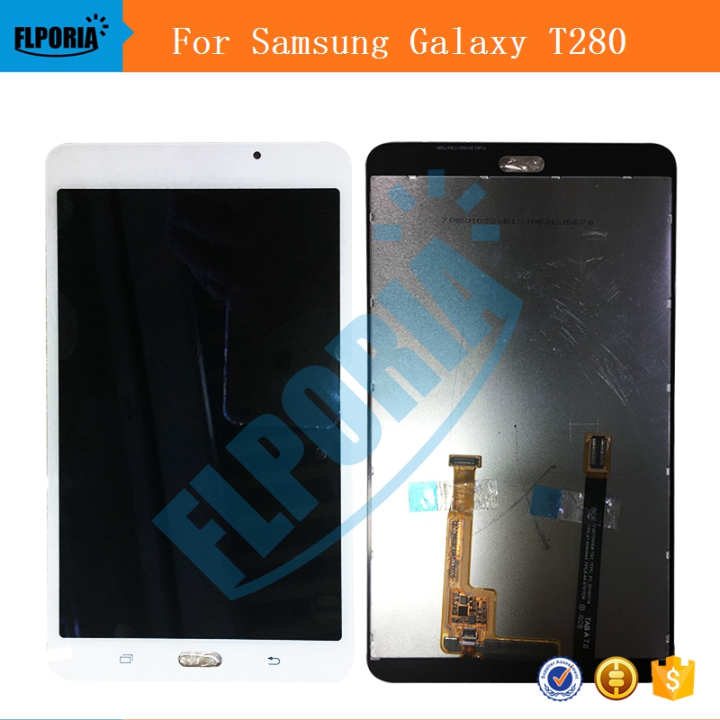 For Samsung Galaxy Tab A 7.0 T280 SM-T280 LCD Display With Touch Screen Digitizer Assembly Replacement T280 LCD Display Panels lcd display touch screen digitizer assembly replacements for samsung galaxy tab e t560 sm t560nu 9 6 free shipping