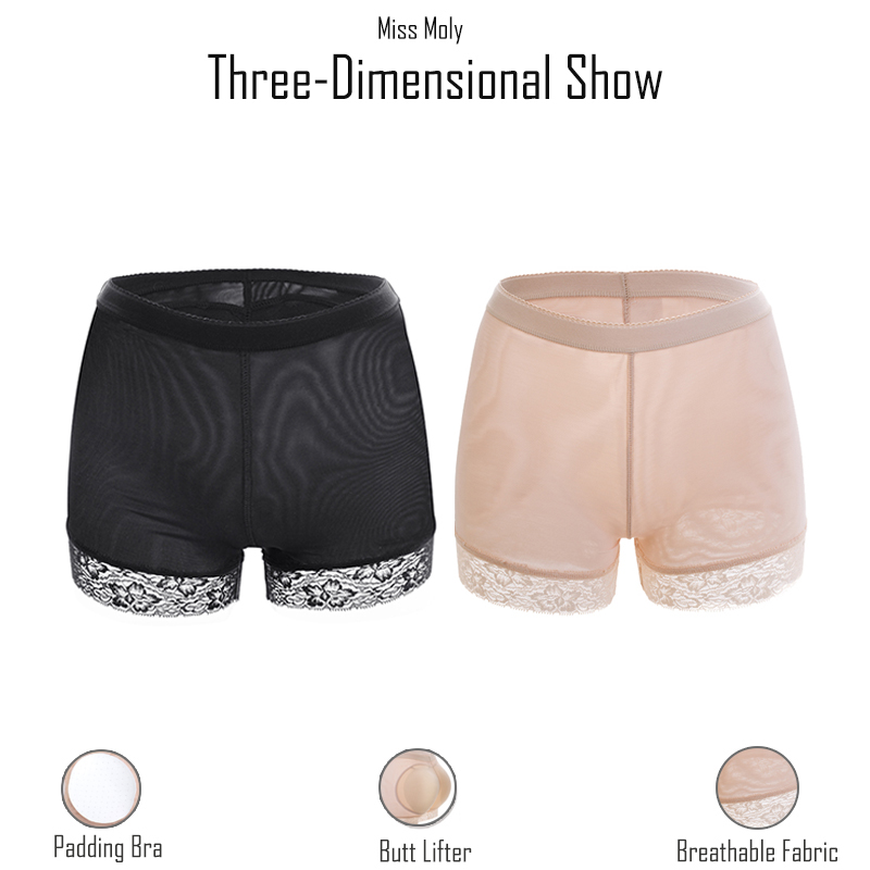 Women booty pads Panty Bum Butt Lifter Ass Big Control Panties Fake Hip Enhancer Shaper Brief Push Underwear Bottom Panty Push 3