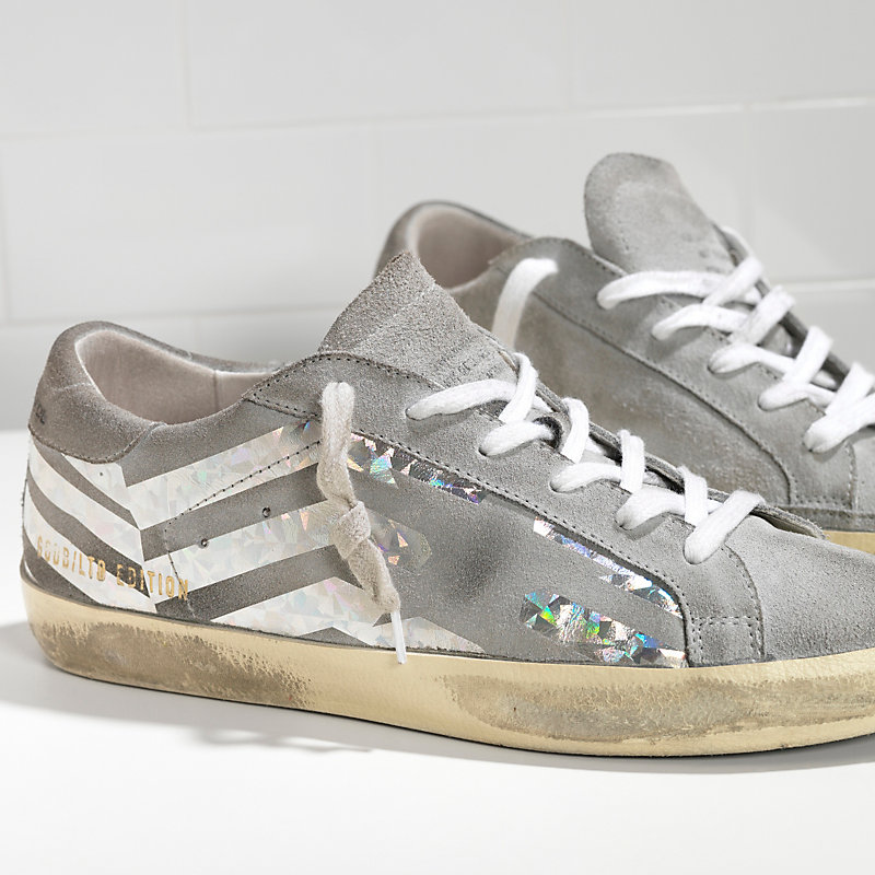 Golden Goose & Grey Flag Superstar Sneakers