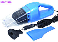 New Hand Mini Car Vacuum Cleaner 12V 100W Portable Handheld Wet Dry Dual Use Super Suction