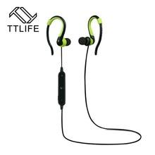 Ttlife marca original manos libres auricular inalámbrico bluetooth 4.1 auricular estéreo del auricular del deporte para el iphone 7 xiaomi teléfono