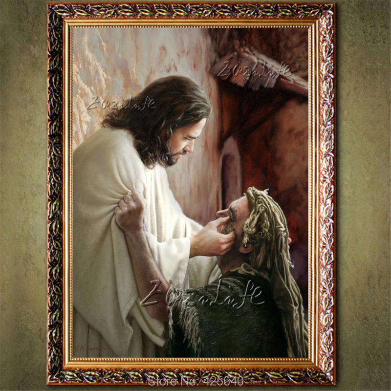 Home Interior Jesus: ⑥Home Decor Jesus Christ Painting ᗐ The The Portrait Of
