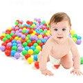 5 шт. экологичный красочный мяч мягкий пластик океан забавный детские малыш плавать яма игрушки воды бассейна океана волна мяч