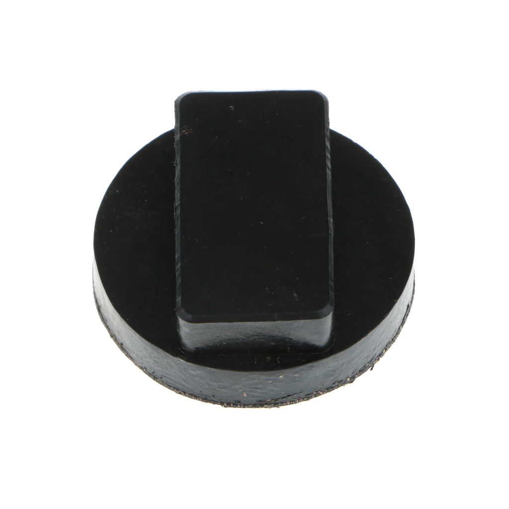 """Image 3 - 2.36"""" x 2.16"""" x 1"""" Black Car Rubber Jack Pads Tool Jacking Pad Adapter For BMW Mini R52/53/55 AF Etc Jack Pads Accessories"""